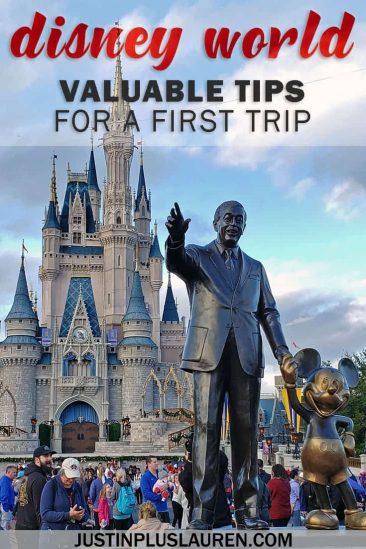 Disney World Must Do: Valuable Tips for a First Disney Trip - #Disney #Orlando #DisneyWorld #TravelTips #Florida #USA