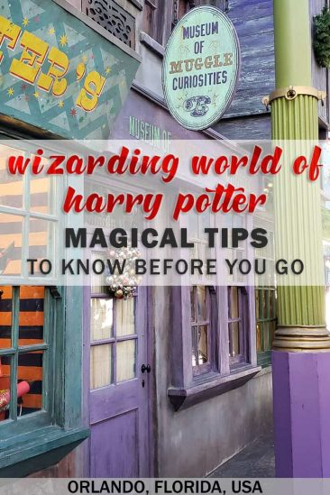 Wizarding World of Harry Potter - Magical tips to know before you go - Universal Orlando, Florida, USA - #HarryPotter #TravelTips #Orlando #Universal #Florida #USA