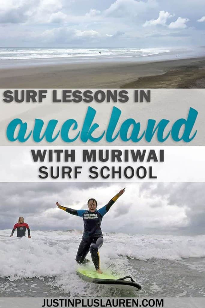 Fun and Exciting Surf Lessons in Auckland with Muriwai Surf School - Surfing in Auckland, New Zealand at Muriwai Beach