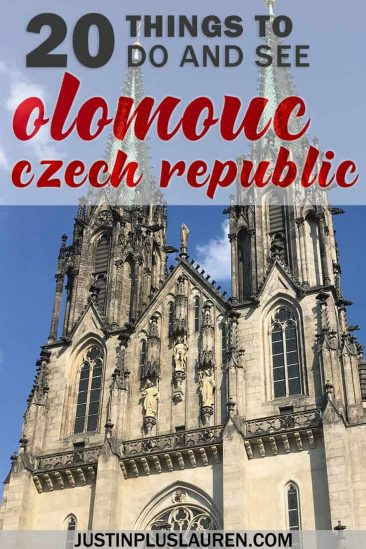 20 Things to do in Olomauc Czech Republic - #Olomouc #CzechRepublic #Europe #TravelTips #Itinerary #TravelGuide
