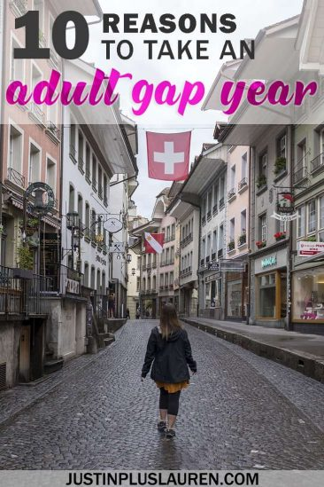 10 Reasons to Take an Adult Gap Year or Career Break #GapYear #CareerBreak #TravelMore #Traveltheworld #RTW