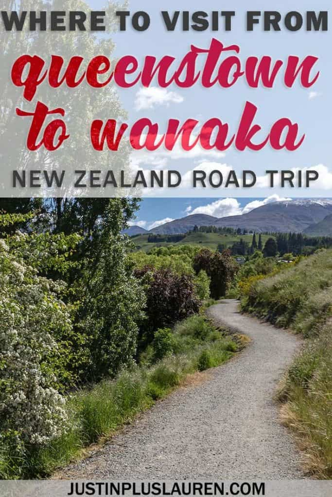 Day Trips From Queenstown: What to See From Queenstown to Wanaka in a Day #NewZealand #RoadTrip #LakeHayes #Arrowtown #Queenstown #Wanaka #DayTrips #SouthIsland
