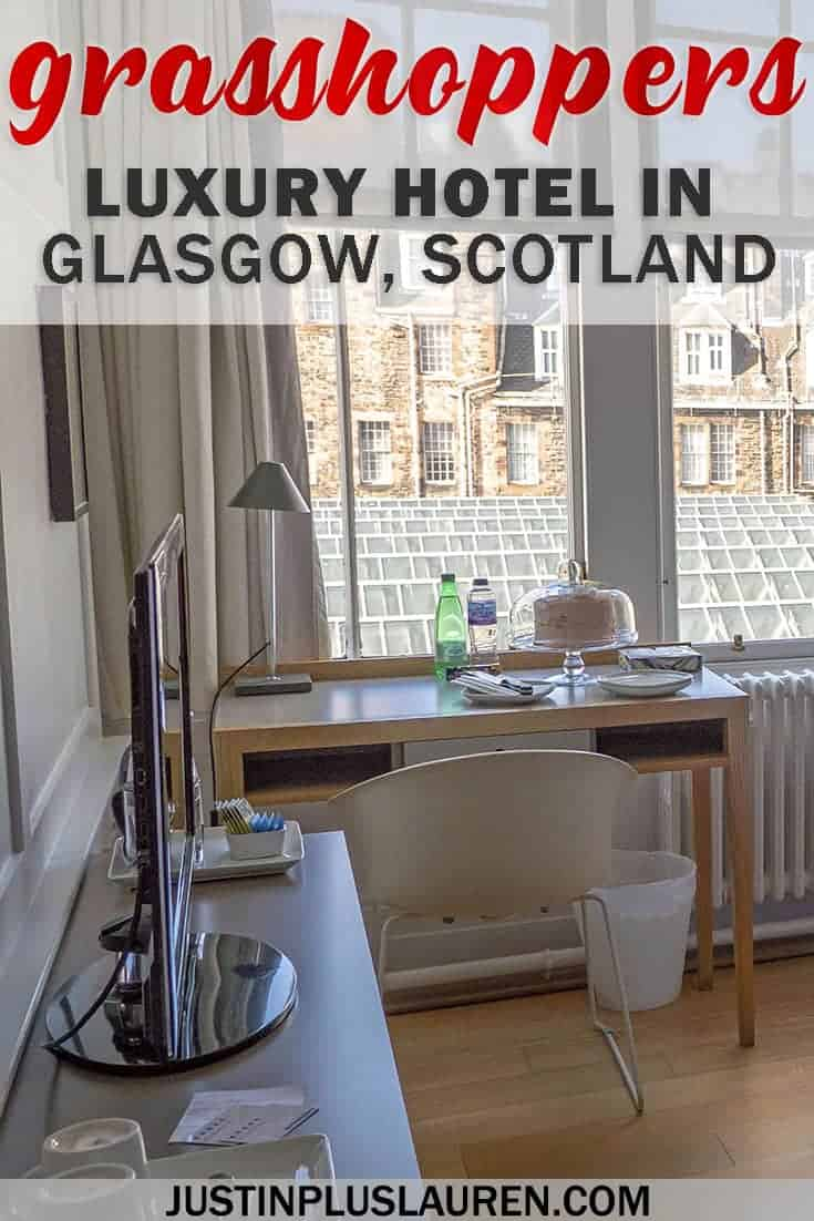 Grasshoppers Hotel: Where to Stay in Glasgow for the Best Holiday #Glasgow #Scotland #UnitedKingdom #UK #Hotel #Review