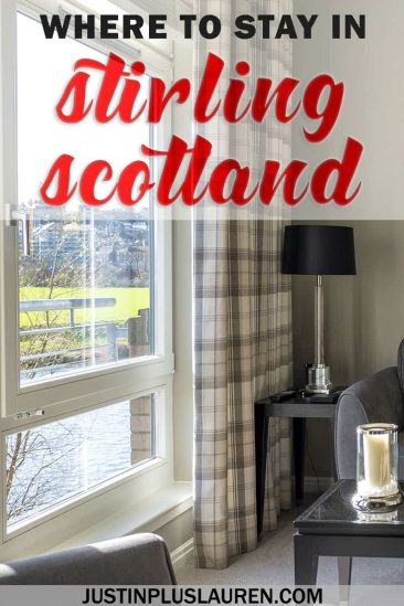 Stirling Luxury Apartments: The Stirling Accommodation That Feels Like Home (Only Better) #Stirling #Scotland #Accommodation #Review #Hotel #Apartment #UK