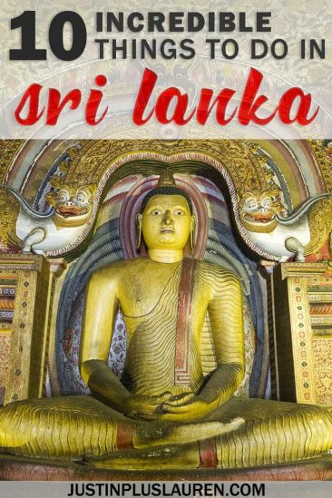 10 Amazing Things to do in Sri Lanka: The Most Beautiful Places in Sri Lanka #SriLanka #Asia #TravelGuide #Itinerary #Top10 #UNESCO #History #Culture #Wellness #Nature