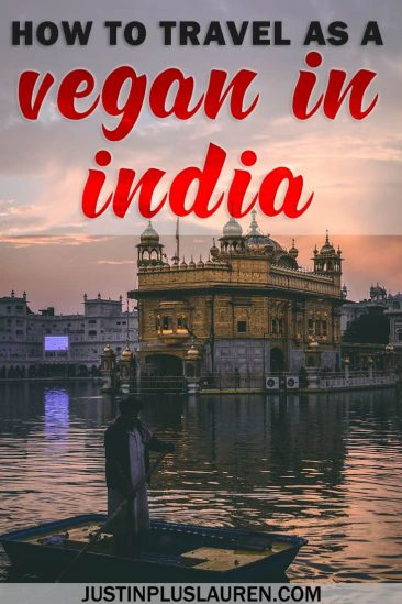 How to Travel as a Vegan in India: An Expert's Advice for Vegan India Travel #Vegan #India #Travel #Tourism #Ecotourism #SustainableTourism #ResponsibleTourism