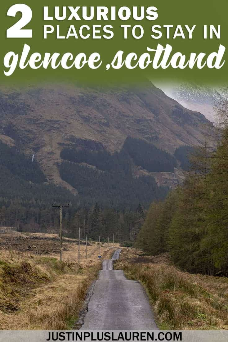 Two Luxurious Hotels in Glencoe Scotland Where You'll Love to Rest Your Head at Night