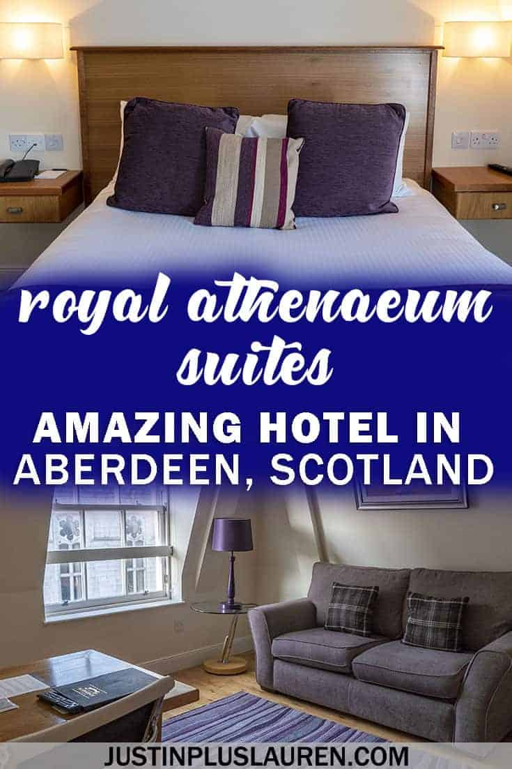 Why Royal Athenaeum Suites in Aberdeen is an amazing accommodation - #Aberdeen #Scotland #UnitedKingdom #Hotel #Review #Suite #Apartment #Accommodation