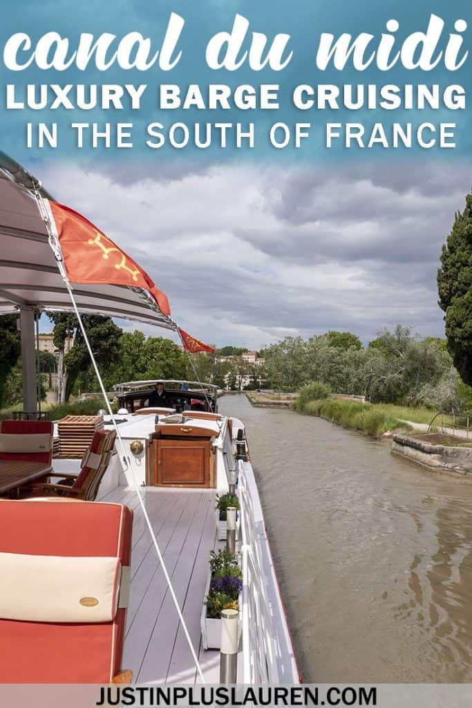 Cruising the Canal du Midi Aboard the Athos Luxury Barge #France #SouthofFrance #Travel #Cruise #Barge #CanalduMidi