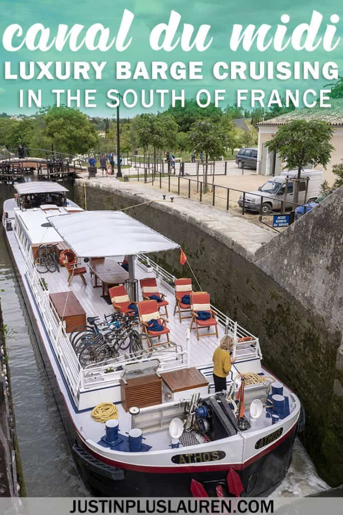 Cruising the Canal du Midi Aboard the Athos Luxury Barge #France #SouthofFrance #Travel #Cruise #Barge #CanalduMidi