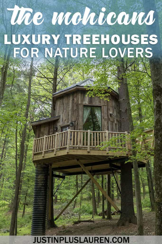 The Mohicans: Luxury Treehouses in Ohio for an Extraordinary Getaway in the Woods #Mohicans #Treehouse #Treehouses #Hotel #Luxury #Forest #Ohio #USA