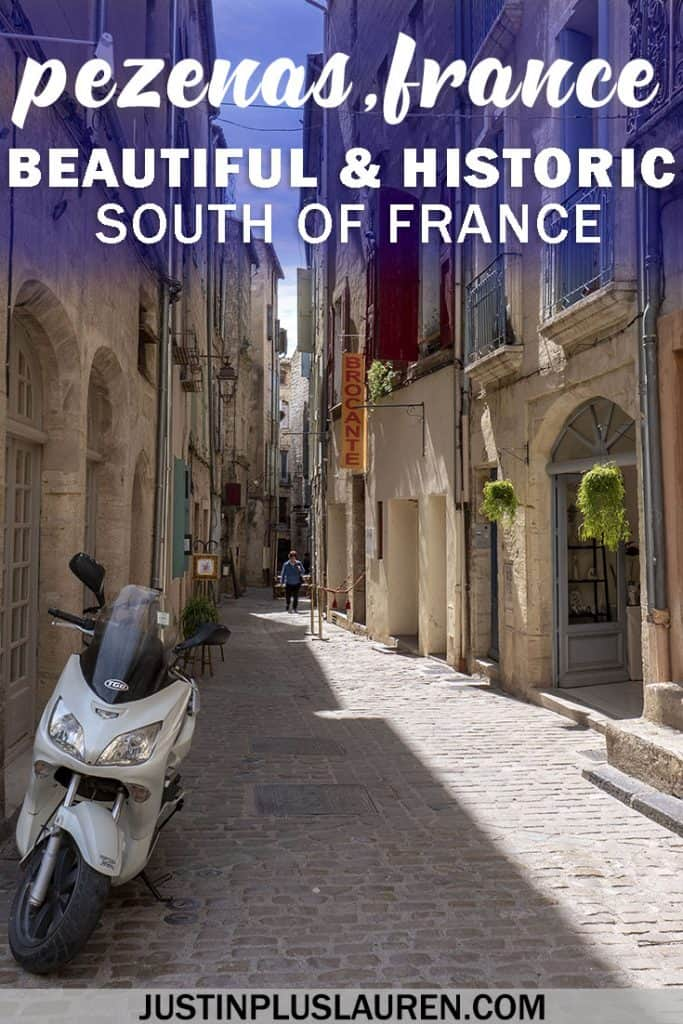 Visit Pezenas France: Exploring this Beautiful Historic Town in the South of France #France #Travel #SouthofFrance #Pezenas #History #OldTown