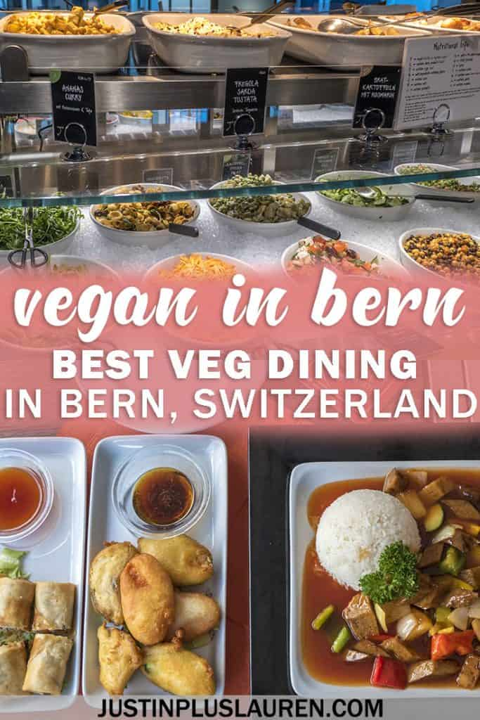 Vegan Restaurants in Bern, Switzerland #Vegan #Vegetarian #Travel #Bern #Switzerland