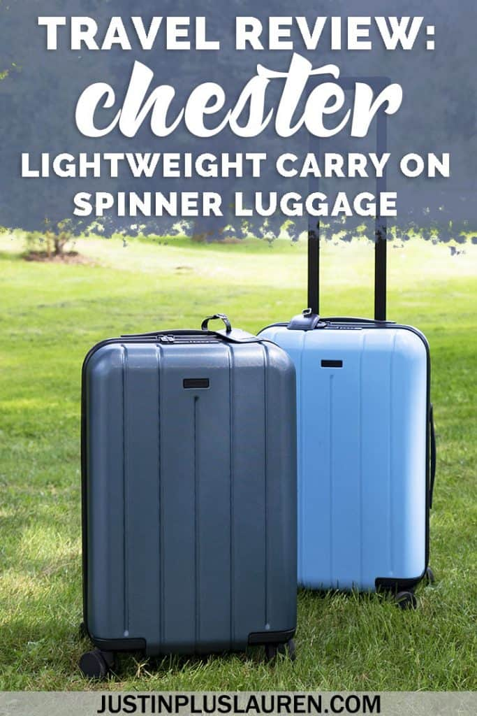 Chester Luggage: Lightweight Carry On Spinner Luggage for the Seasoned Traveler #Chester #Luggage #Suitcase #CarryOn #Spinner #Lightweight #Shopping #Travel