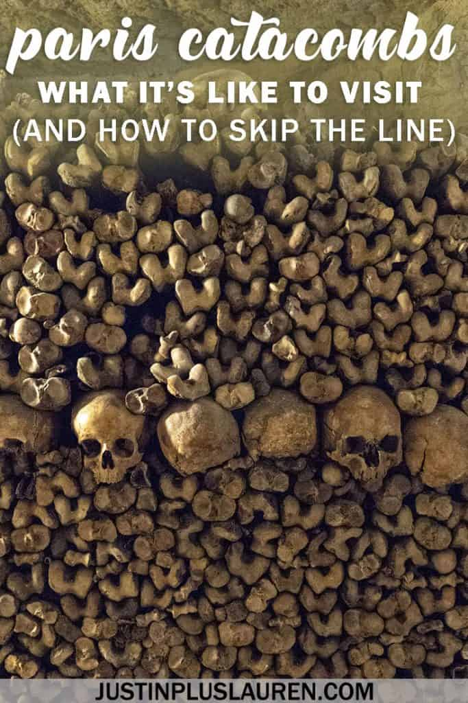 Paris Catacombs Tour: What It's Like Inside the Most Fascinating and Largest Grave in the World #Paris #France #Catacombs #Travel #Tour #History