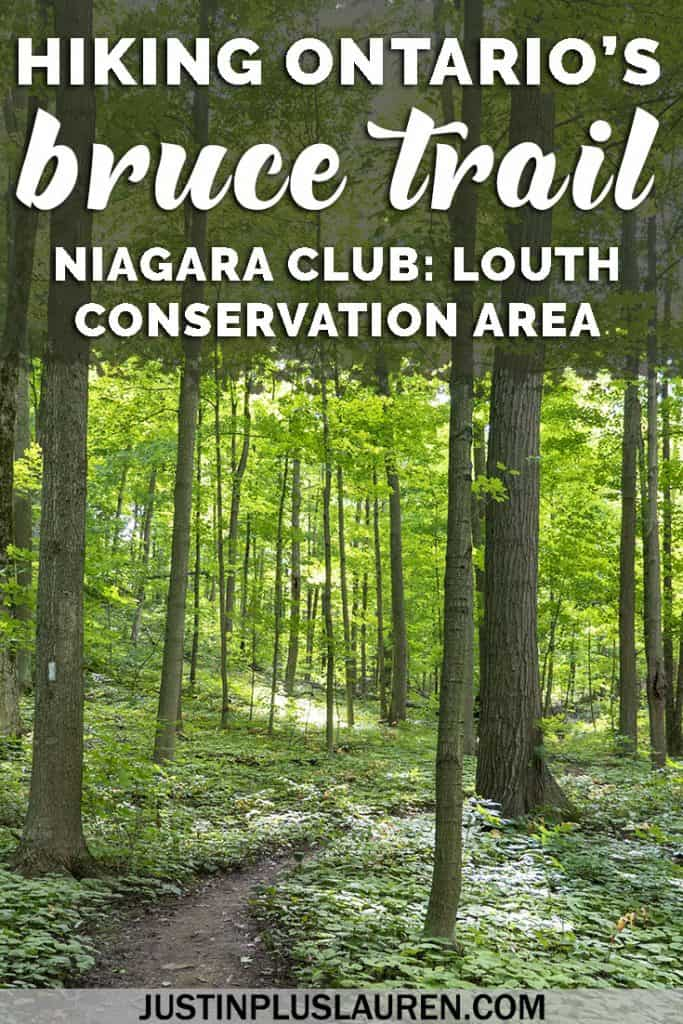 Hiking the Bruce Trail: Louth Conservation Area and Bruce Trail Niagara Club #Ontario #Canada #BruceTrail #Hiking #Travel