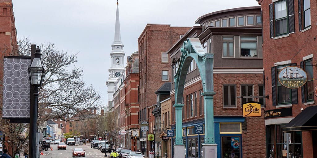 Downtown Portsmouth NH