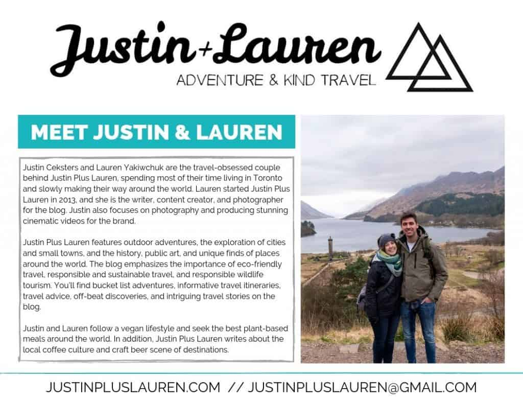 Justin Plus Lauren Media Kit
