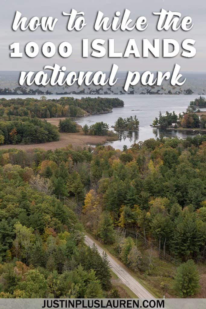 How to Hike at the Thousand Islands National Park: Visiting Thousand Islands Ontario in the Fall #Travel #Ontario #Canada #NationalPark #ThousandIslands #1000Islands #Hiking