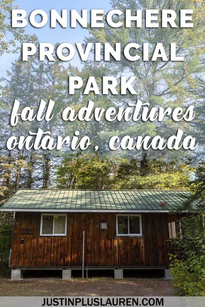 Bonnechere Provincial Park: How to Stay, Play, and See the Best Fall Colours in Ontario #Fall #Autumn #Foliage #Ontario #Canada #Travel #Bonnechere