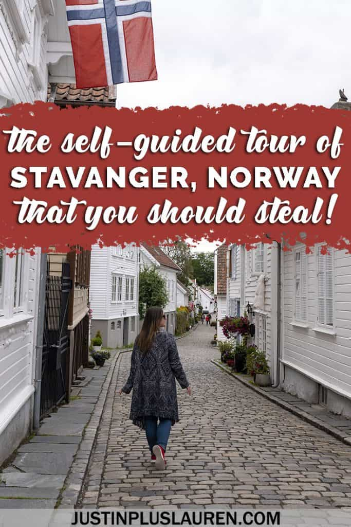Top Things to Do in Stavanger Norway: An Amazing Self Guided Walking Tour of Stavanger (Map Included!) #Stavanger #Norway #Travel #Itinerary #Cruise