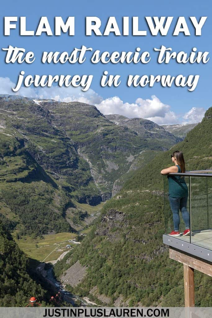 All Aboard the Flam Railway! One of the Most Beautiful Train Journeys in the World #Flam #Norway #Train #Travel #Cruise #Excursion