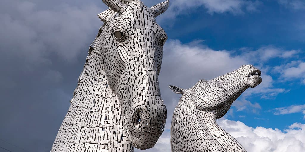 Kelpies and Pineapple Scotland
