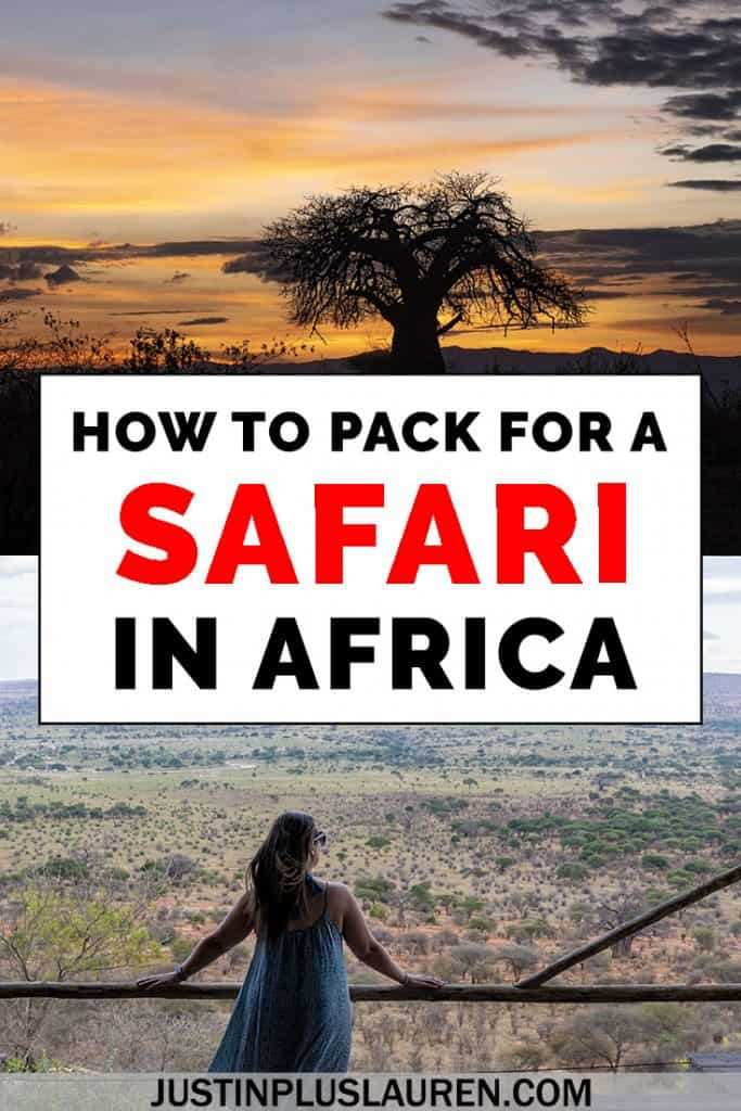 The Ultimate African Safari Packing List: What to Wear on Safari, Best Safari Luggage, and More! #Africa #Tanzania #Safari #Packing #List #Pack #Luggage #Travel