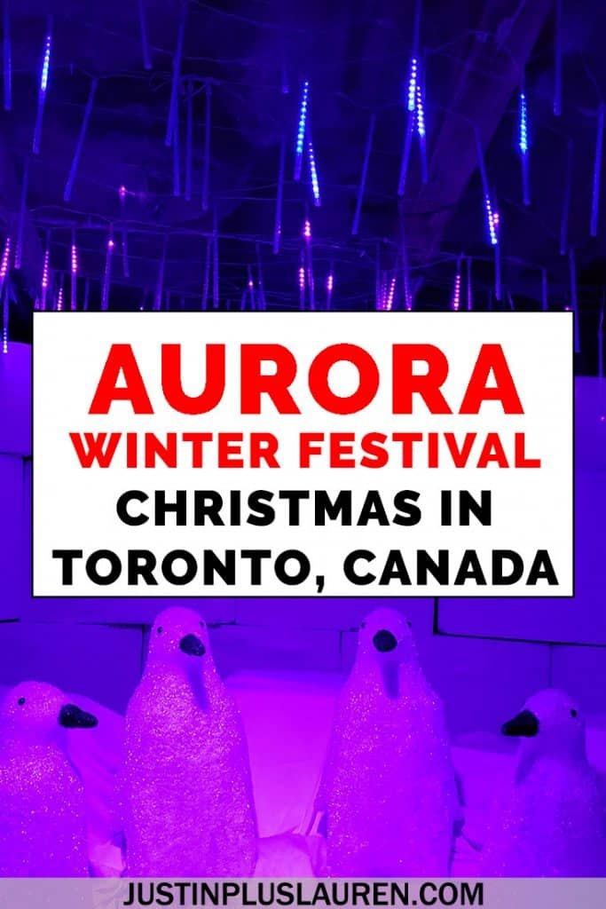 Aurora Winter Festival Toronto: Best Places to See Christmas Lights in Toronto and Enjoy a Christmas Festival in Toronto