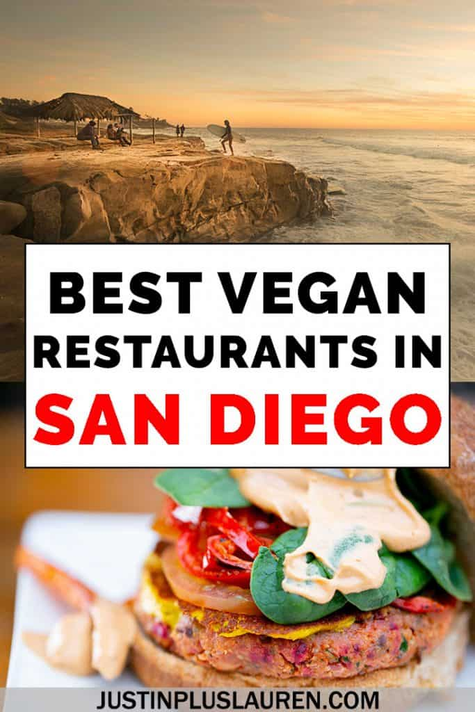 Looking for the best vegan restaurants in San Diego, California? San Diego is a really vegan friendly city with tons of vegan and vegetarian restaurants. Here are the top vegan San Diego restaurants for yummy plant-based meals. #SanDiego #California #Vegan #Vegetarian #Restaurants