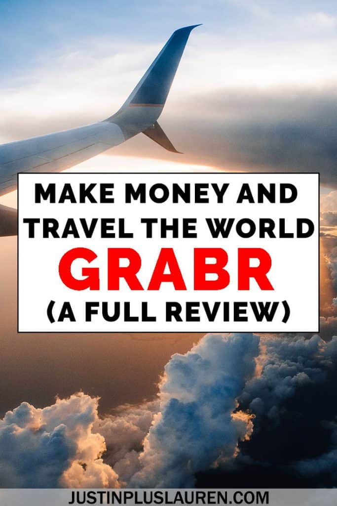 Have you heard of Grabr? It's a total game changer in the world of travel. Grabr will help you cut the costs of your travel without much effort or work. In some cases, you can recuperate the costs of a portion of your flight (up to $1000!). In this Grabr review, I'm going to show you how it all works for both travelers and shoppers, and how you'll want to integrate this strategy as a way to save money and travel more often. #Grabr #Travel #SaveMoney #TravelMore #Review