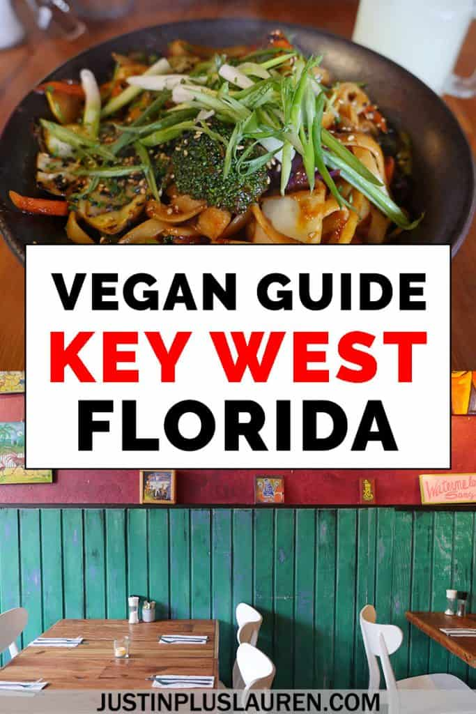 Vegan meals in Key West, Florida? No problem! Key West and the Florida Keys have lots of vegan and vegetarian dining options. Here are the best vegan restaurants in Key West that you'll love! #KeyWest #FloridaKeys #Florida #Travel #Vegan #Vegetarian