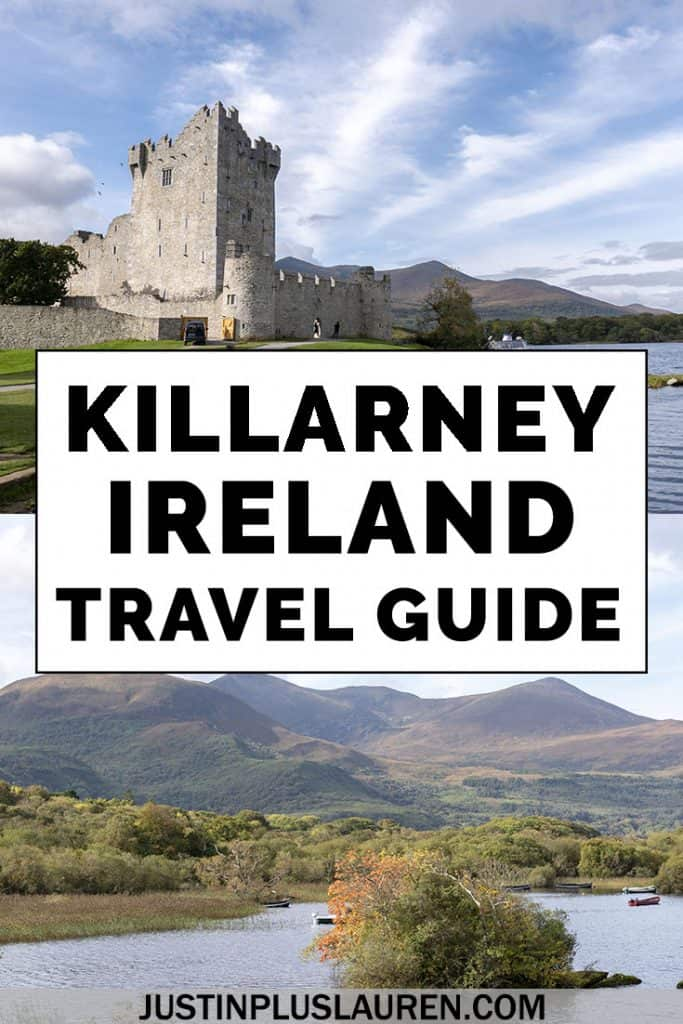 There are so many fun things to do in Killarney Ireland! Here's the ultimate travel guide for Killarney with all the best attractions, activities, restaurants, places to stay, Irish pubs, and more. #Killarney #Ireland #Travel #Irish #Town #RingOfKerry