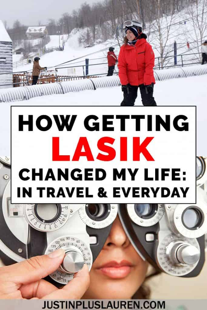 Is LASIK worth it? I share my experiences with getting LASIK eye surgery, and how it has transformed my daily life and my traveling life. #Lasik #Laser #Surgery #Travel #Sight