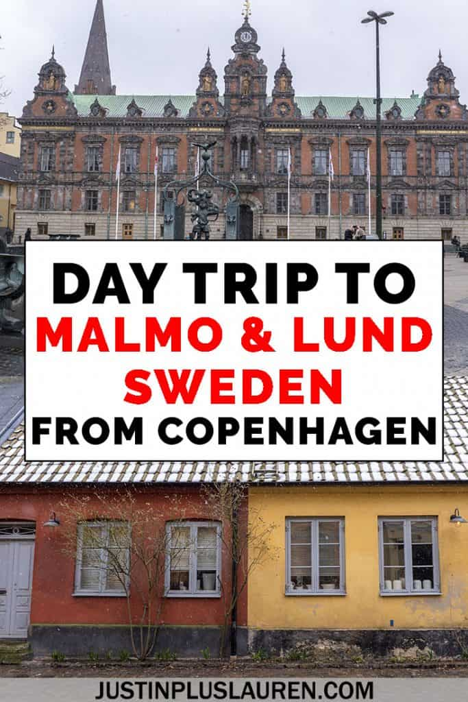 A day trip from Copenhagen to the Swedish towns of Malmo and Lund. It's easy to add a day in Sweden to your Copenhagen travel plans. Here's how to visit Malmo and Lund from Copenhagen for an awesome day trip. #Malmo #Lund #Sweden #Copenhagen #Travel