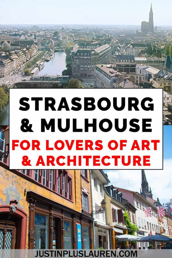 Strasbourg and Mulhouse, France are two top French cities for their creative energies, public art, and amazing attractions. These cities are undergoing renewal and revitalization through art and architecture. Here are the top things to do in Strasbourg and Mulhouse, France. #Strasbourg #Mulhouse #France #City #Travel