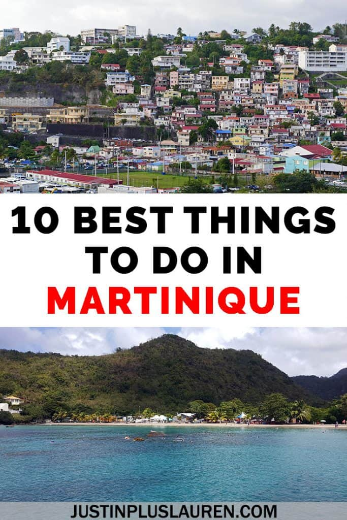 Martinique is a picturesque French Caribbean island that you must visit! Here are the 10 best things to do in Martinique in this amazing Martinique travel guide. #Martinique #Caribbean #Travel #Island #Beach