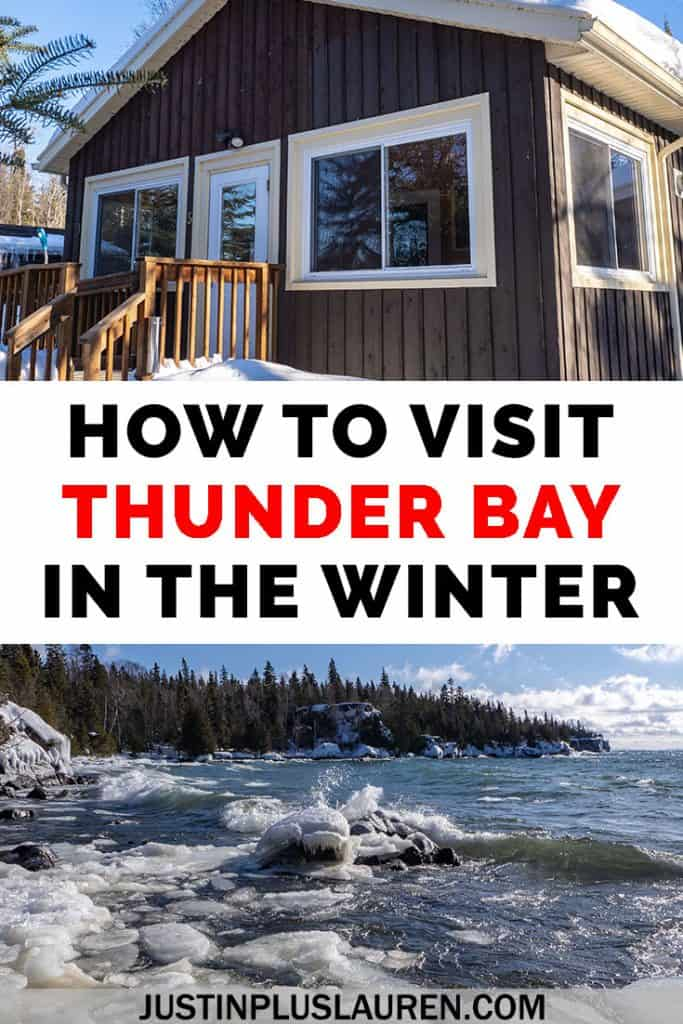 Let's embrace the winter! There are so many things to do in Thunder Bay in the winter. Get ready for fun winter activities at Sleeping Giant Provincial Park, Kakabeka Falls, and within Thunder Bay itself! #ThunderBay #Ontario #Canada #Travel #Winter
