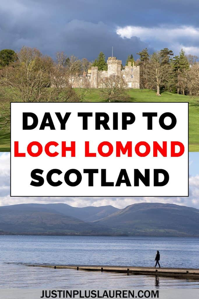 Loch Lomond and the Trossachs National Park is an amazing and beautiful area of Scotland. You can easily travel there on a day trip from Glasgow, Edinburgh or Stirling. Here's all of the best things to do in Loch Lomond and the Trossachs in a day. #LochLomond #Trossachs #Scotland #DayTrip #Itinerary