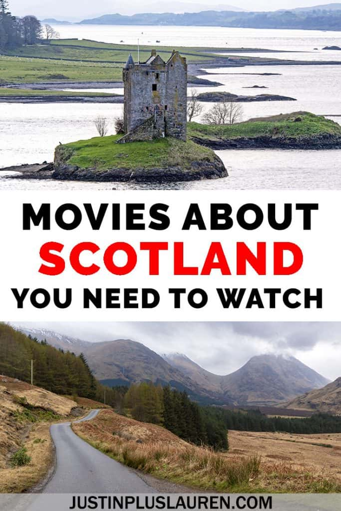 These are the top 25 movies about Scotland that you need to watch! These films will inspire you to travel to Scotland, as well as tell stories about Scotland's history and culture. #Scotland #Movies #Film #Travel #Scottish