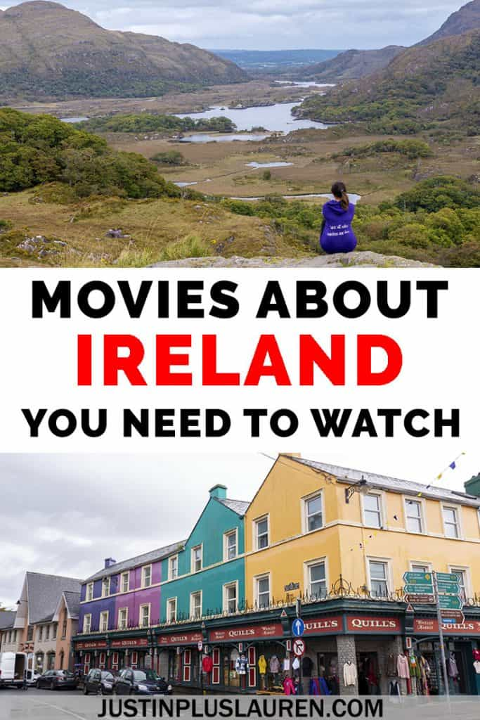 Here are the best Irish movies that you've gotta see! These movies about Ireland will make you want to travel there instantly. Here are the best Ireland movies you need to watch. #Ireland #Movies #Films #Irish #Travel