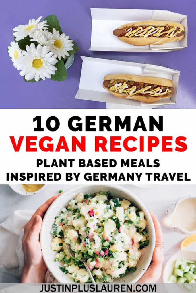 Bring the flavors of Germany to your kitchen at home! Here are 10 authentic German recipes made 100% vegan and plant-based. It'll be like your own vegan Oktoberfest celebration at home! #Vegan #German #Germany #Recipes #Vegetarian
