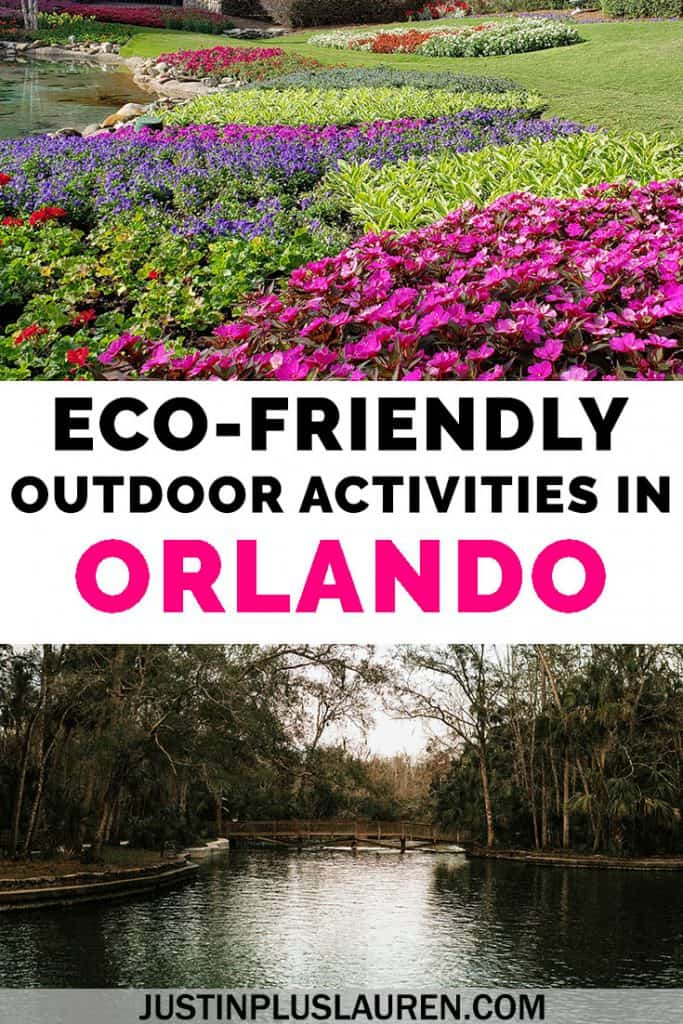 Looking to go beyond the theme parks? Once you've tackled Disney and Universal Orlando, check out these eco-friendly adventures in central Florida. These are the best outdoor activities in Orlando for the whole family to enjoy. #Orlando #Florida #Outdoors #Eco #Parks