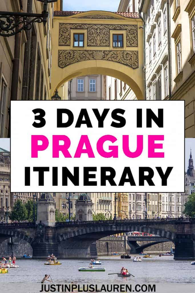 Visiting Prague, Czech Republic? Here's how to spend an amazing 3 days in Prague! This is the ultimate Prague itinerary with tips and advice on things to do in Prague, restaurants, and where to stay. #Prague #CzechRepublic #ThingsToDo #Itinerary #Travel