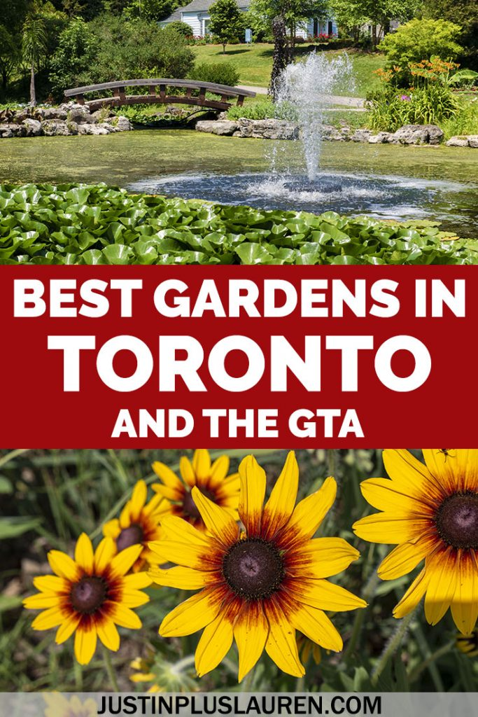 Looking for peaceful and pretty places in the GTA? These are the best gardens in Toronto and the Greater Toronto Area that you will love! #Toronto #Ontario #Canada #Gardens #PrettyPlaces