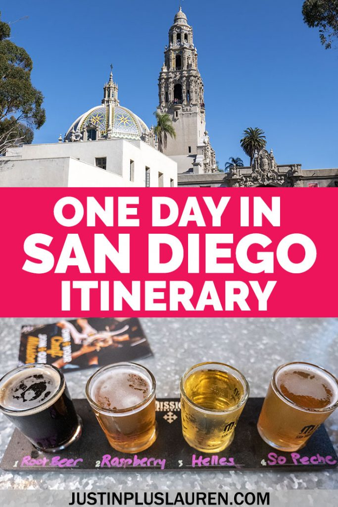 Do you have only one day in San Diego? Take a look at this in depth San Diego itinerary for the perfect day in San Diego, California. #SanDiego #California #Itinerary #TravelGuide #Travel