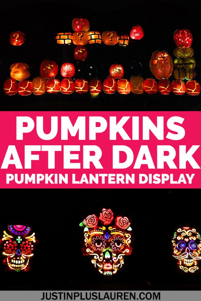 Pumpkins After Dark is a pumpkin festival in Milton, Ontario, about an hour from Toronto. This Halloween festival will put you right into the spirit of the spooky season!