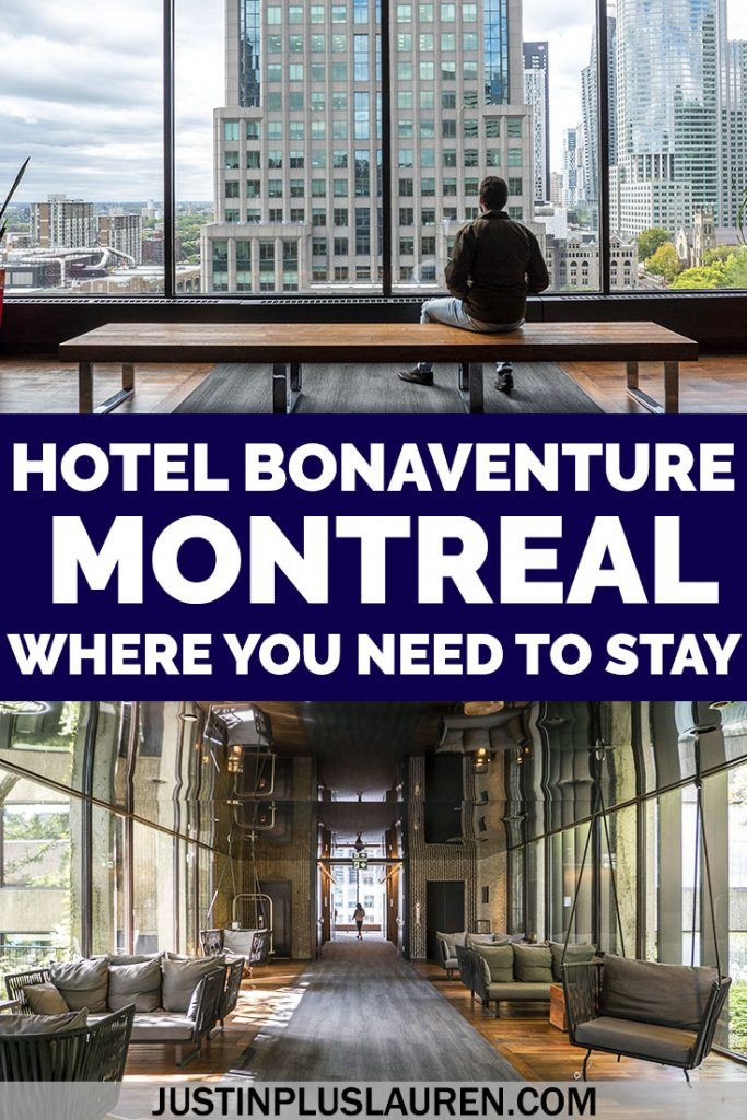 Looking for where to stay in Montreal? Here's our complete review of the Hotel Bonaventure Montreal. We've stayed here twice now and we're convinced it's the best hotel in downtown Montreal.