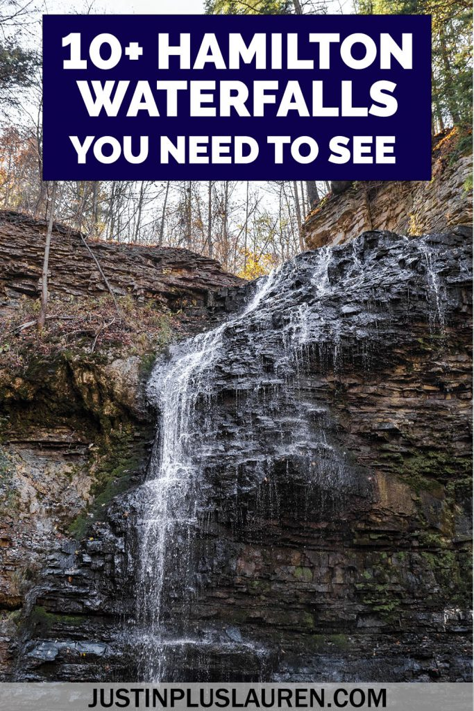 Hamilton, Ontario is the City of Waterfalls, and there are more than 100 to visit. Here are the 10+ best waterfalls in Hamilton to help your plan your trip. There are recommended waterfall itineraries in this complete and essential guide.