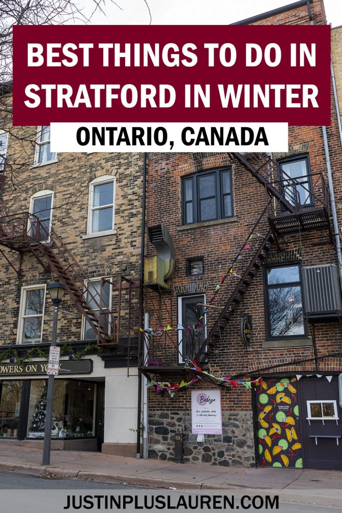 Stratford Ontario is one of the most charming places to visit in Ontario, Canada. Here are the best things to do in Stratford in the winter for a super fun weekend getaway!